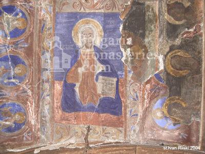 Курилски манастир - Стенописис в църквата (Снимка 16 от 21)