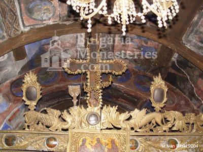 Курилски манастир - Царските двери (Снимка 18 от 21)