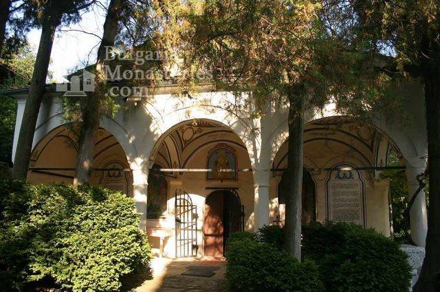 Мъглижки манастир - Църквата (Снимка 3 от 14)