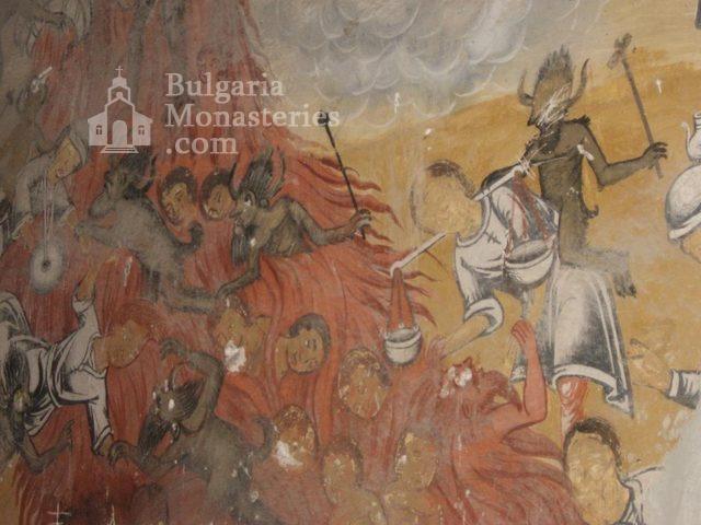 Мулдавски манастир - Страшният съд (Снимка 18 от 31)