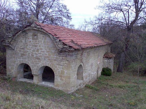 Неделишки манастир  - Каменните релефи в църквата  (Снимка 2 от 2)