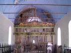 Пещерски манастир - Вътрешността на църквата