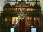 Плаковски манастир - Иконостасът