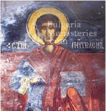 Подгумерски манастир - Стенописи в църквата (Снимка 2 от 3)