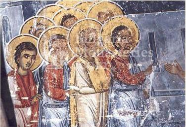 Подгумерски манастир - Стенописи в църквата (Снимка 3 от 3)