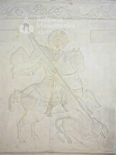 Поморийски манастир - Барелефът над аязмото (Снимка 22 от 24)