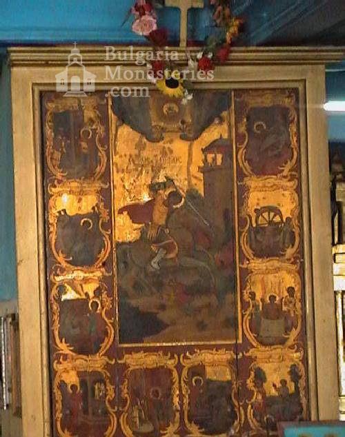Поморийски манастир - Иконата