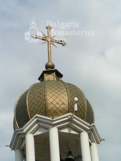 Поморийски манастир - Куполът на канбанарията (Снимка 5 от 24)