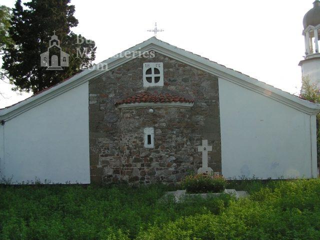 Поморийски манастир - Църквата