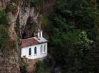 """Разбоишки манастир - Скалната църква """"Въведение Богородично"""""""