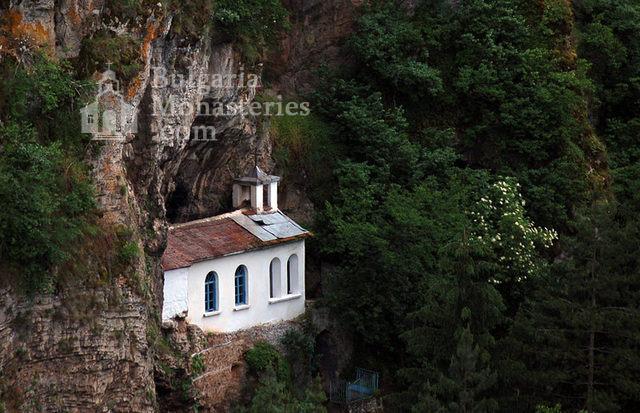 Разбоишки манастир - Скалната църква