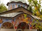 Соколски манастир - Входът на църквата
