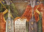 Троянски манастир - Стенопис Св. св. Кирил и Методий