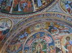 Троянски манастир - Стенопис на купола
