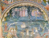 Троянски манастир - Страшният съд от Захарий Зограф