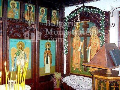 Варненски манастир - Вътрешността на църквата (Снимка 12 от 15)