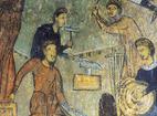 Земенски манастир - Исковаване на разпятието