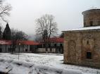 Земенски манастир - Комплексът през зимата