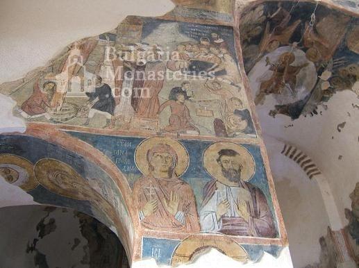 Земенски манастир - Вътрешността на църквата (Снимка 24 от 27)