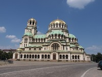 Bulgarian monasteries tour - Day 1 - the Cathedral Alexander Nevski, Sofia