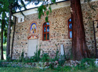 "German Monastery ""St.Ivan Rilski"" - The two sequoias"