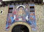 Kapinovo Monastery - The gate of the holy shrine