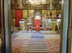 Kapinovo Monastery - The interior of the church