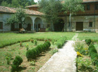 Plakovski Monastery - The courtyard of the monastery
