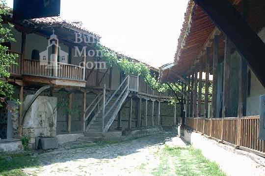 Rozhen Monastery - The courtyard  (Picture 9 of 16)