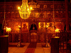 Rozhen Monastery - The iconostasis in the church