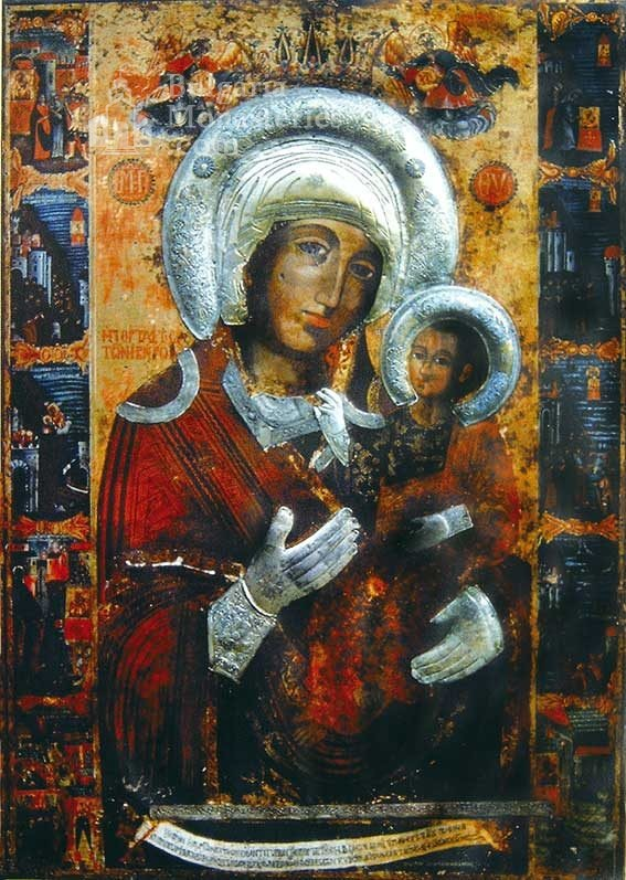 Rozhen Monastery - The Virgin Mary Portatisa (Picture 6 of 16)