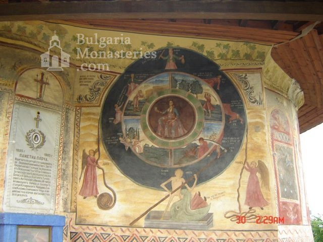 Transfiguration monastery  - The wheel of life (Picture 7 of 29)