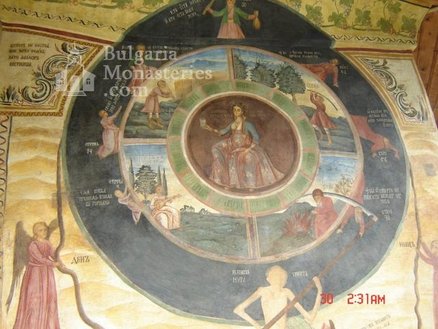 Transfiguration monastery  - The wheel of life (Picture 11 of 29)