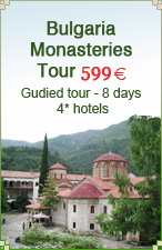 Bulgarian monasteries tour