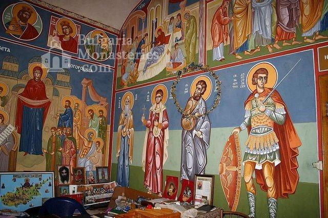 Айдемирски манастир - Стенописите в църквата (Снимка 6 от 11)