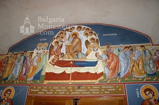 Айдемирски манастир - Стенописите в църквата (Снимка 10 от 11)