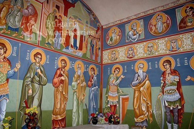 Айдемирски манастир - Стенописите в църквата (Снимка 11 от 11)