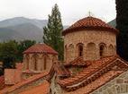 Бачковски манастир  - купола на църквата