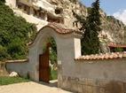 Басарбовски манастир -  Входът на манастира
