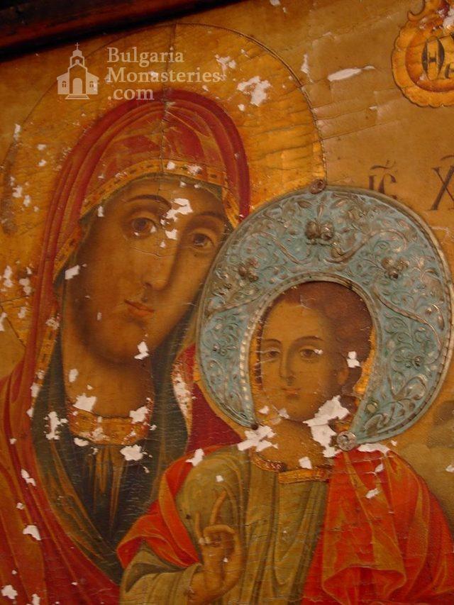 Баткунски манастир - Богородица с Исус (Снимка 14 от 23)