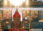 Баткунски манастир - Иконостасът в църквата