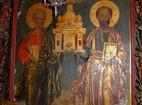Баткунски манастир - Патроните Петър и Павел