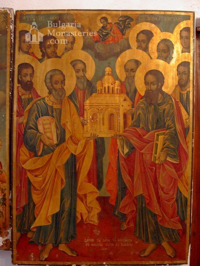 Баткунски манастир - Стенопис (Снимка 8 от 23)