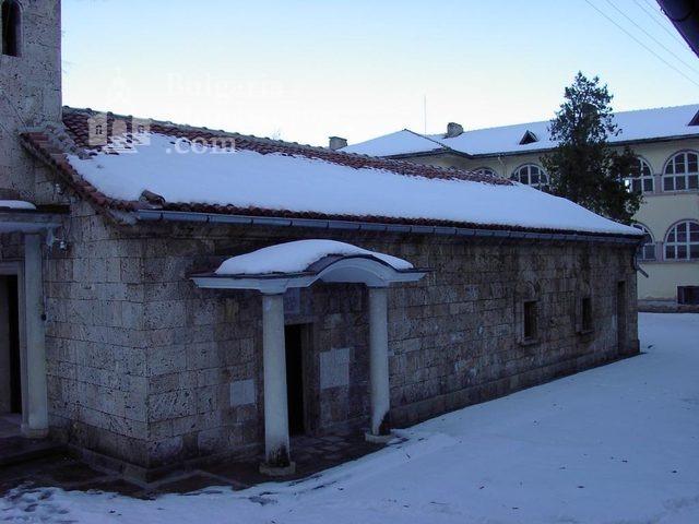 Баткунски манастир - Входът на църквата (Снимка 17 от 23)