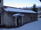 Баткунски манастир - Входът на църквата