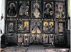 Батошевски манастир - Олтара в църквата