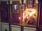 Белащински манастир - Олтарът в църквата