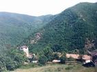 Чипровски манастир - Манастирът от птичи поглед