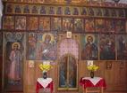 Дивотински манастир - Иконостасът в църквата