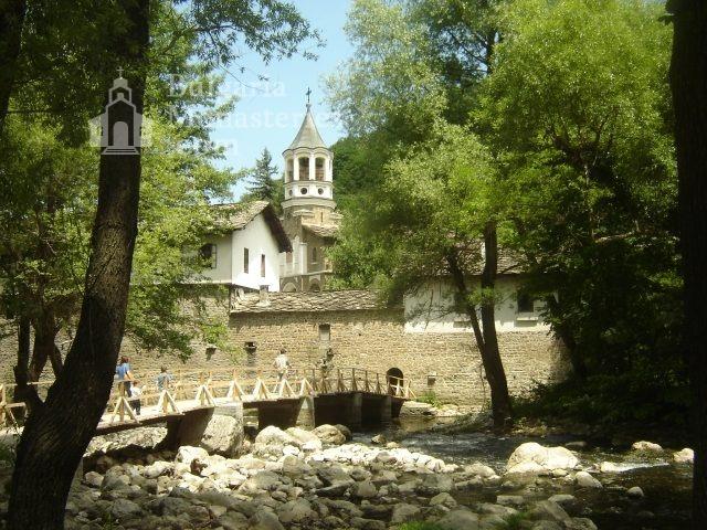 Дряновски манастир - Комплексът от вън (Снимка 5 от 22)